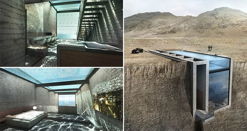This House Built Into A Cliff Has The Most Awesome Yet