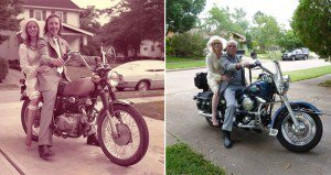 Couple Recreate Wedding Photos After 40 Years