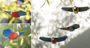 DIY Songbird Mobiles