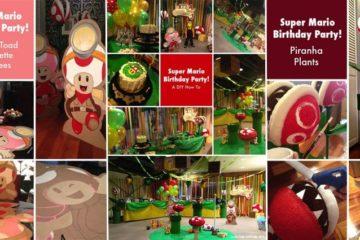 DIY Super Mario Kids Birthday Party