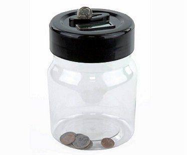 Digital Money Counting Jar coins
