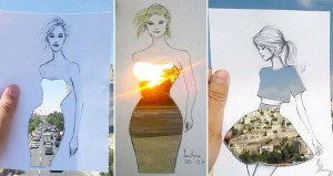 Dress Designs Buildings And Nature