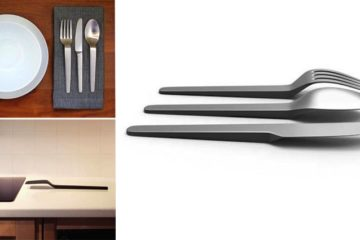 Eating Utensils Float Above The Table