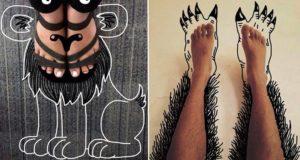 Feet Illustrations
