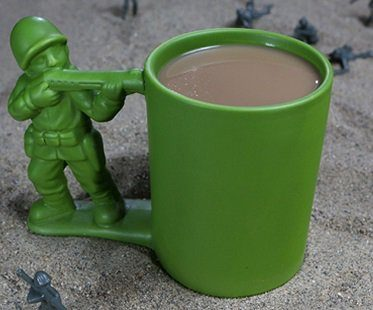 Green Army Man Mug