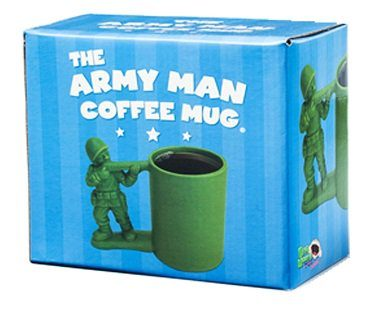 Green Army Man Mug box