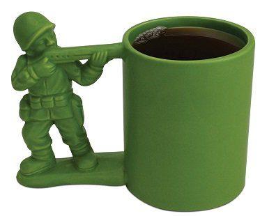 Green Army Man Mug soldier