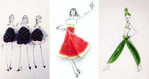Gretchen Roehrs Food Fashion Designs
