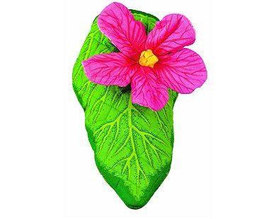 Hibiscus Flower Oven Mitt