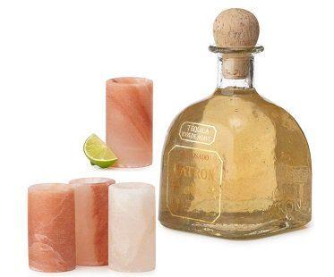 Himalayan Salt Shot Glasses tequila