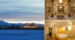Hotel Made Entirely From Salt