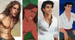 How Disney Princes And Heroes Would Look If They Were Real People
