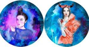 Illustrated Zodiac Girls
