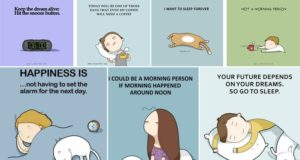 Illustrations About Sleep