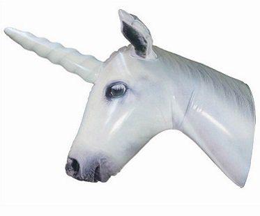 Inflatable Unicorn Head horn