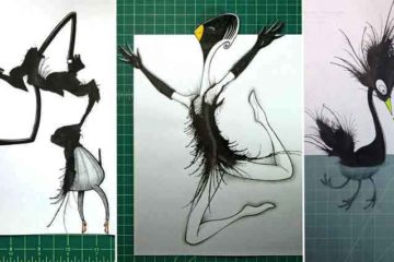 Ink Blot Monsters