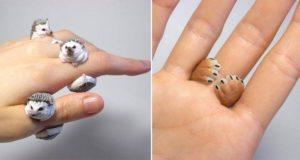 Jiro Miura Animal Cling Rings
