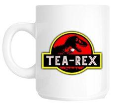 Jurassic Park tea-rex mug
