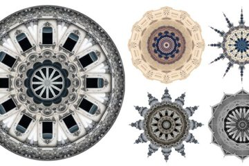 Kaleidoscopic Images Of Buildings