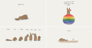 Kitt Santos Bunny Illustrations
