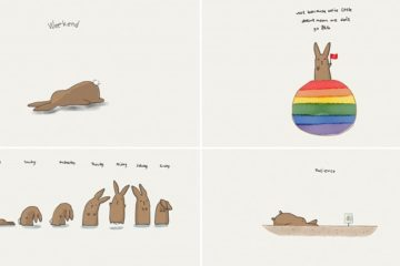 Kitt Santos Bunny Illustrations
