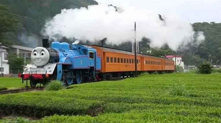 Life Size Thomas The Tank Engine Train Japan