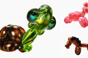 Lifelike Balloon Animals