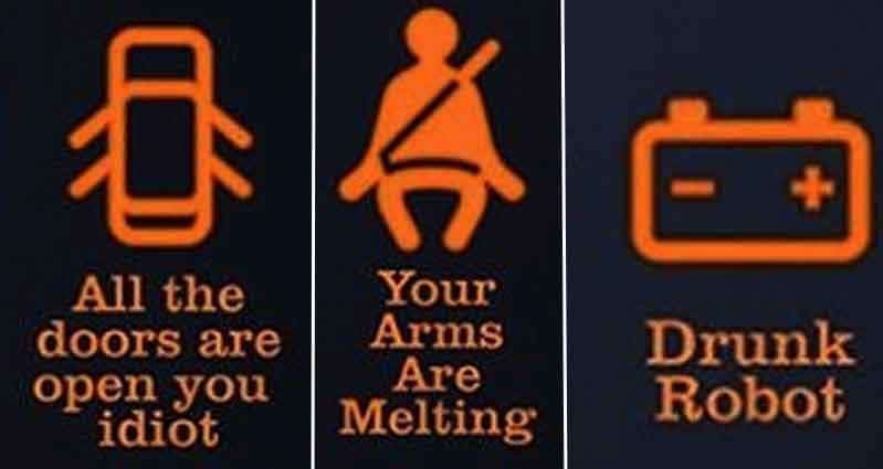 Car Seat Safety Check >> What Do Those Lights On Your Dash Really Mean