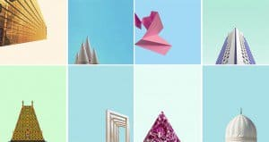 Minimalist Colorful Urban Images