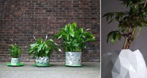 Origami Pots Will Grow Alongside Plants