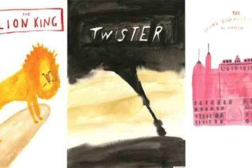 Paintings Of Popular Movie Posters