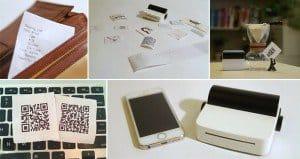 Portable Smartphone DroPrinter