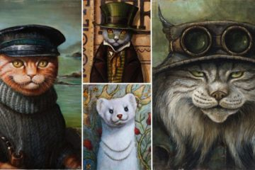 Portraits Of Creatures From The Pacfic Northwest