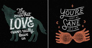 Posters Featuring Harry Potter Quotes