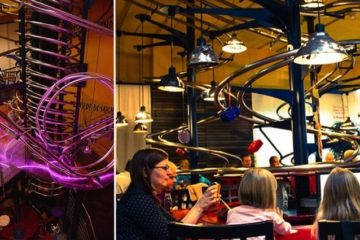 Restaurant Where Meals Are Delivered By Rollercoaster