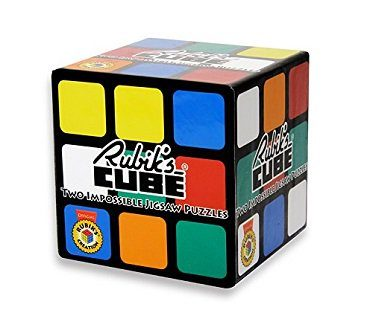 Rubiks Cube Jigsaw Puzzles box