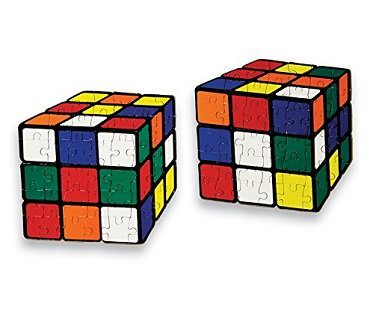 Rubiks Cube Jigsaw Puzzles complete