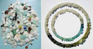 Sea Glass Sculptures