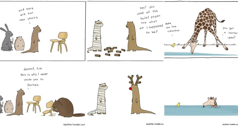 Simpsons Illustrator Liz Climo Is Back With More Adorable Animal