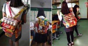 Snackpack Instead Of Backpack