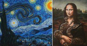 Snakes In Famous Art Works