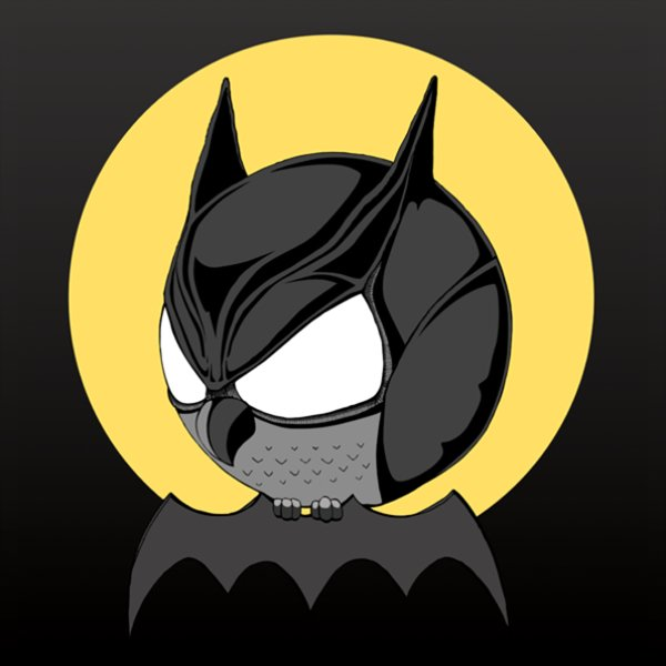 Sowulka-little-rounded-owl-batman