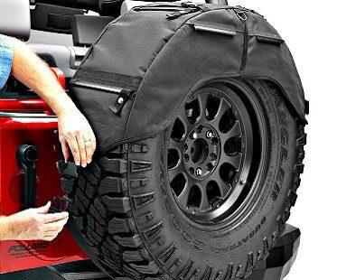 Spare Tire Organizer car