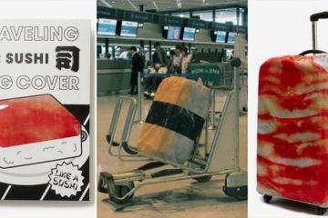 Sushi Luggage Covers