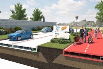 Sustainable Recycled Plastic Roads