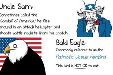 The Oatmeal Explains America