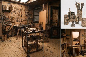 Tom Burckhardt Cardboard Studio