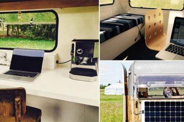 Tom Van De Beek Mobile Caravan Office