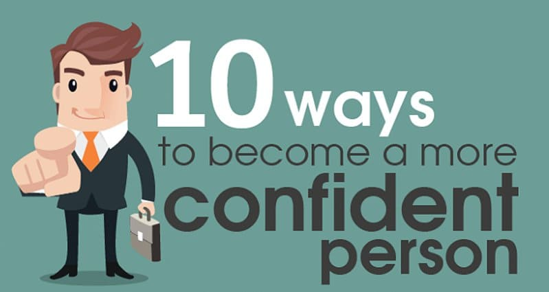 how to be a more confident person