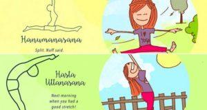 Yoga Poses We Do Accidentally